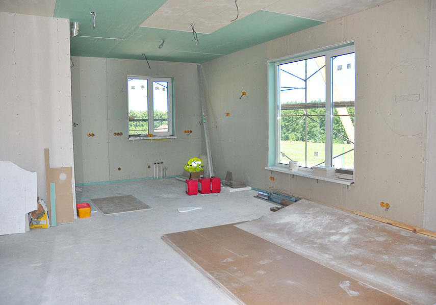 room is under construction